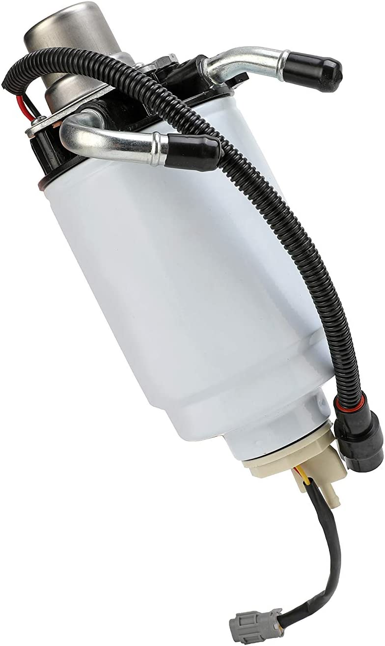 Classic Sierra Compatible with Chevy and GMC Trucks 904-517 TP3018 HD 12639448 3500 Classic with Duramax Fuel Filter with Head Assembly and Sensor 6.6L Silverado 2500 HD Replaces 12642623