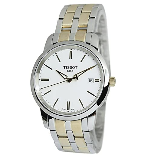 DANIEL WELLINGTON - Montre Homme Tissot Classic Dream T0334102201101 Bracelet En Acier - T0334102201101: Amazon.es: Relojes