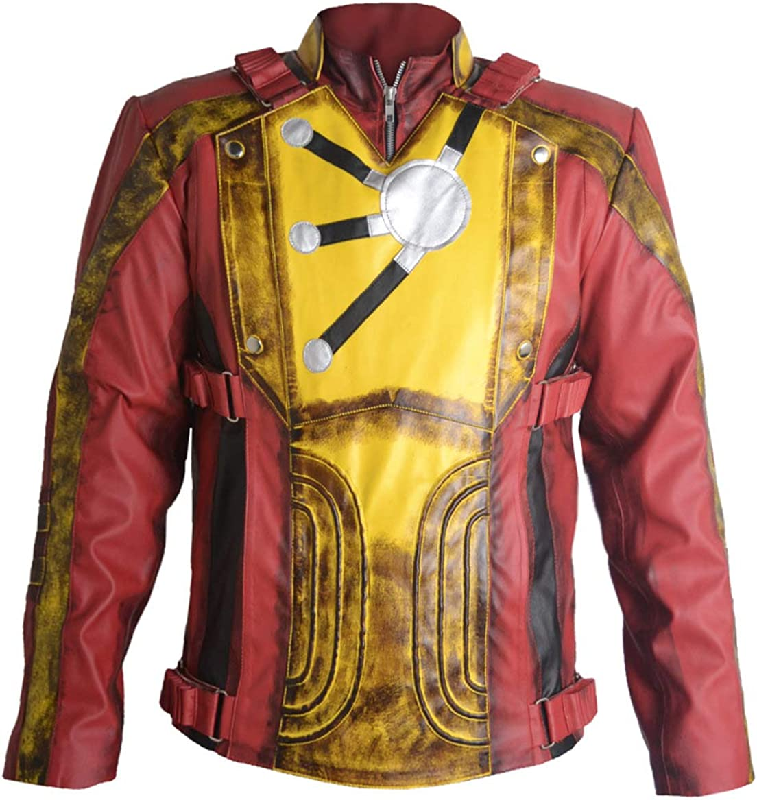 Stormwise Mens Firestorm Fashion Legends of Tomorrow Leather Jacket