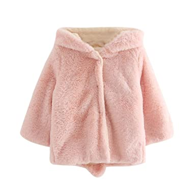 Bebé Niñas Niños Orejas de conejo abrigo con capucha,Yannerr Chica Chico invierno primavera chaqueta