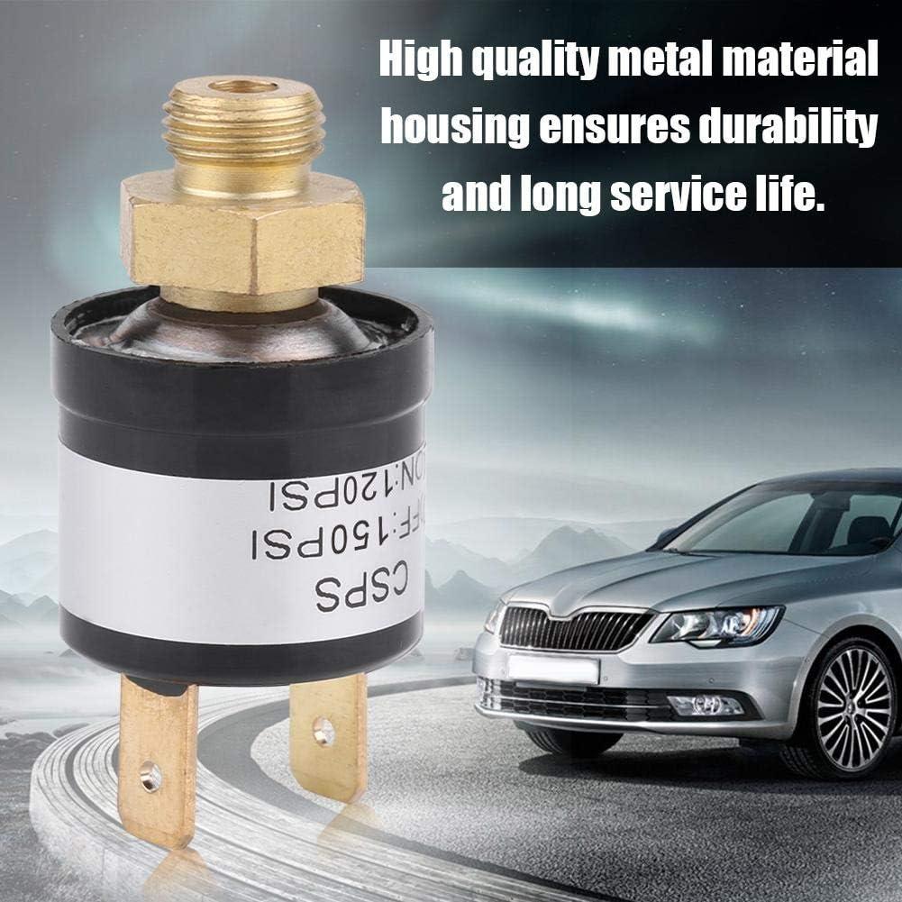 KIMISS DC12-36V 3A Universal Car Air Compressor Switch Air Pressure Control Switch 120-150 PSI