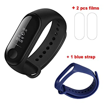 China 2018 Xiaomi Mi Band 3 Miband 3 con Passometer Heart Rate 5ATM 50M Impermeable Smart