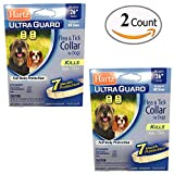 Dog Flea Treatment Collar - Pack of 2 Flea Collar for Large Dogs Water Resistant Tick Repellent 7 Months Protection