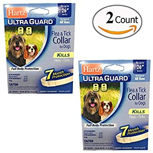 hot sale Pack of 2 Flea Collar for Large Dogs Water Resistant Tick Repellent 7 Months Protection