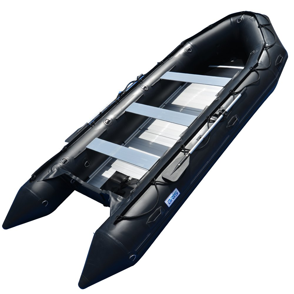 BRIS 15.4 ft Inflatable Boat Inflatable Rescue & Dive Inflatable Raft Power Boat by Bris Boat