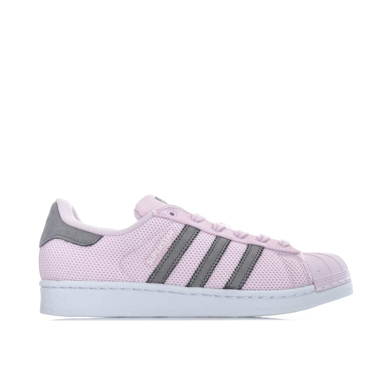 e89eec60b5c4 adidas Girls Originals Junior Girls Superstar Trainers in Pink - UK 4   Amazon.co.uk  Shoes   Bags