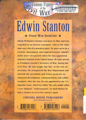 Download Edwin Stanton: Secretary of War (Famous Figures of the Civil War Era) pdf epub