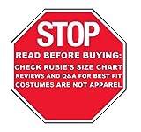 Rubie's Men's Party Supplies, Black, Standard