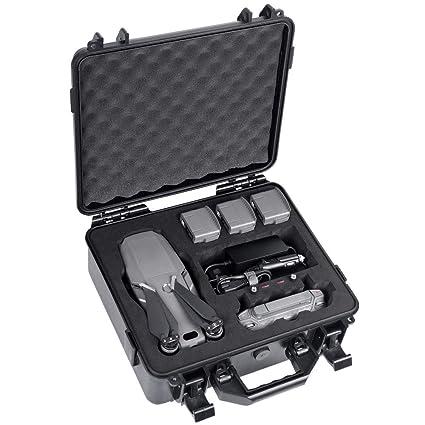 948546b349a Amazon.com : Smatree Hard Carrying Case Compatible for DJI Mavic 2 Pro/Mavic  2 Zoom Fly MoreCombo(Upgrade Edition) : Camera & Photo