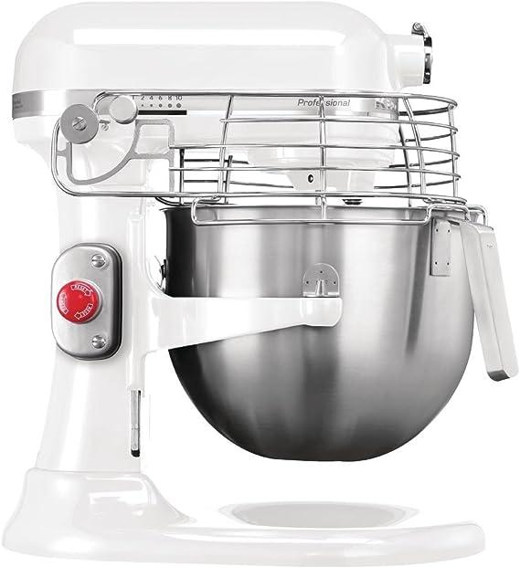 Robot de cocina profesional Kitchenaid blanco: Amazon.es: Hogar
