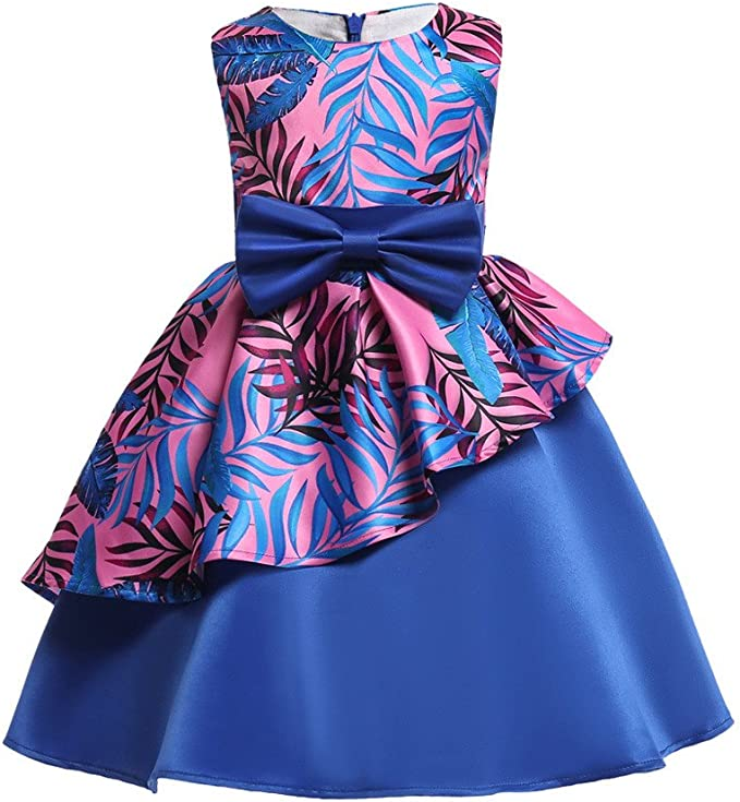 Abiti Eleganti Bambina 8 Anni.Mbby Vestito Bambina Fiori 3 8 Anni Vestiti Di Cerimonia Per
