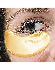 TBPHP 25 Pairs Collagen Eye Masks,Gold Powder Eye Masks Face Pad Anti Ageing Wrinkle Premium Crystal Gold Collagen EYE Mask