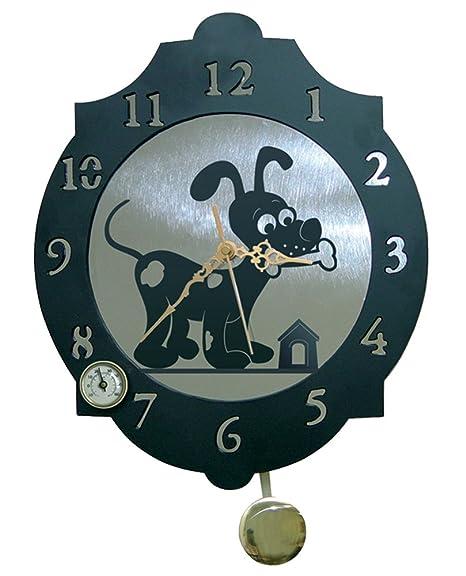 IMEX EL ZORRO El Zorro 11364-Reloj Perro con Hueso, 374 x 312 mm