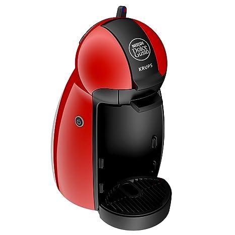 Krups Dolce Gusto - Cafetera de cápsulas, 0.6 L, 1500 W, negro/rojo
