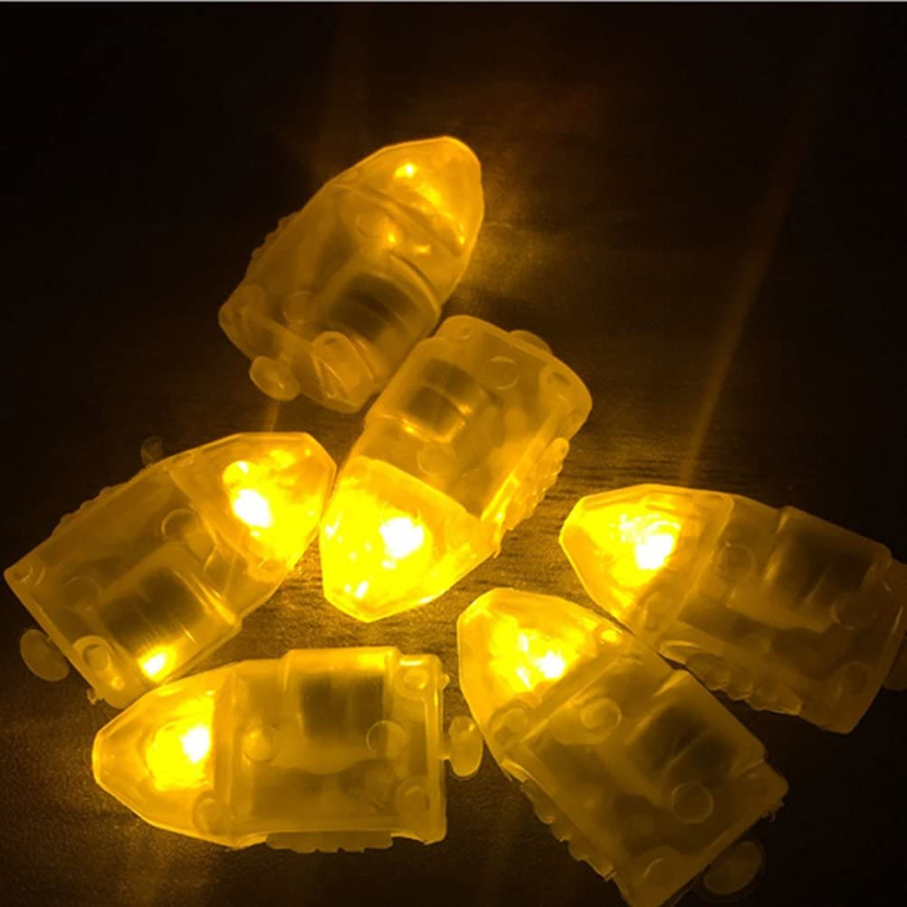 Lot de 30 mini lampes /à LED Id/éales pour une f/ête ou pour compl/éter des lampions en papier Blanches bleu Super lumineuses