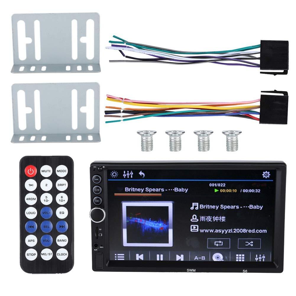 "6.5/"" Wakeboard Speakers 2 Rockville RGHR2 Marine Bluetooth USB Receiver+Remote+"