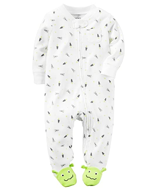 b5bc042c5 Image Unavailable. Image not available for. Color: Carter's Baby Boys'  Cotton Sleep and Play Footed Pajama (6 Months ...