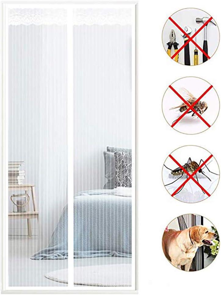 NIYOU Cortina Mosquitera Magnética para Puertas, Anti Insectos ...