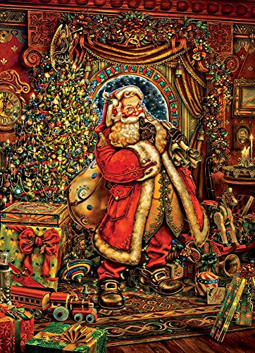 Cobble Hill Christmas Presence 1000 Piece Jigsaw Puzzle by Artist Myles Pinkney