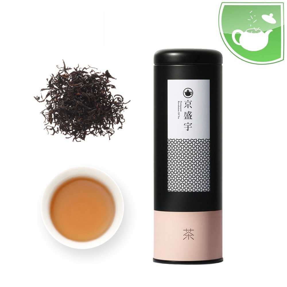 Taiwan Tea Canister of Loose Leaf Taiwanese Black Tea, 50g from Jing Sheng Yu