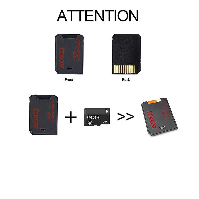 LEAGY - Adaptador Micro SD 3.0 y 2.0 para Sony Playstation ...