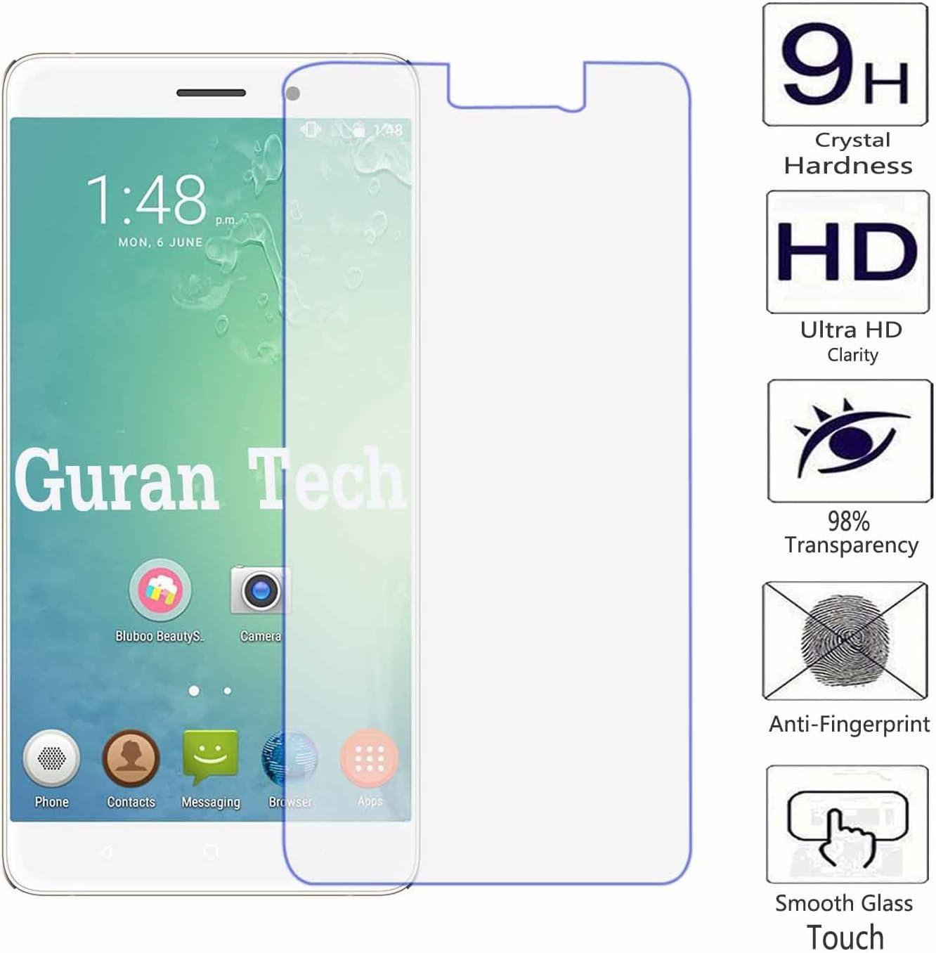 Guran® Protector de Pantalla Vidrio Cristal Templado para BLUBOO Maya Smartphone Film: Amazon.es: Electrónica