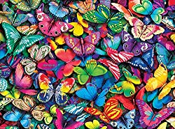 Buffalo Games - Vivid Collection - Butterflies - 1000 Piece Jigsaw Puzzle