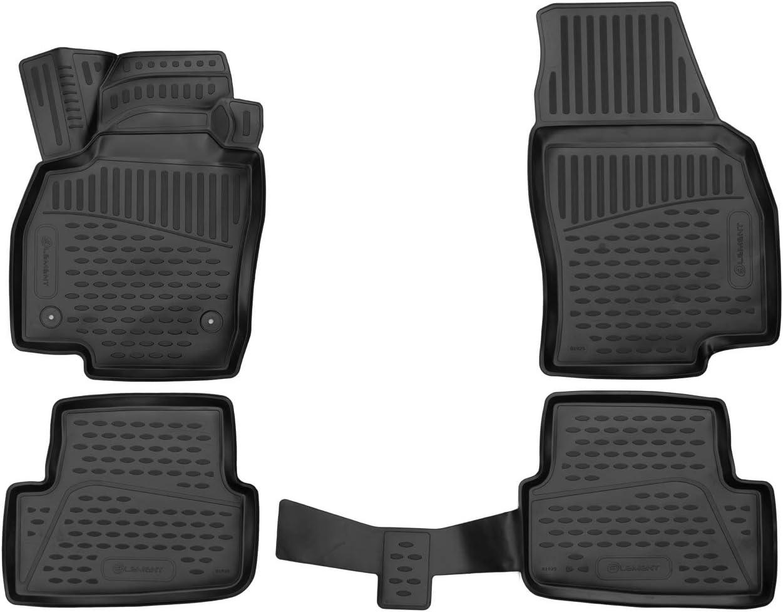 Element Exp Element3d01925210k 3d Passgenaue Premium Antirutsch Gummimatten Fußmatten Seat Arona 2017 Schwarz Passform Auto