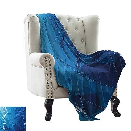 Amazon.com: Anyangeight Nautical,Throw Blanket,Underwater ...