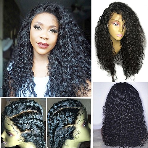 Dorosy Hair Full Lace Human Hair Wigs For Black Women 150% Density Remy Hair With Natural Hairline Curly Hair With Baby Hair(20 inch with 150% - Lace Wig Remy Full