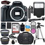Canon EOS Rebel SL2 DSLR Camera (Body Only) + Accessory Bundle