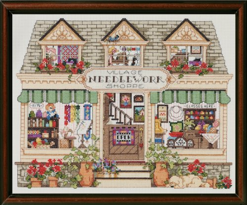 Janlynn Counted Cross Stitch Kit, Needlework Shoppe ()