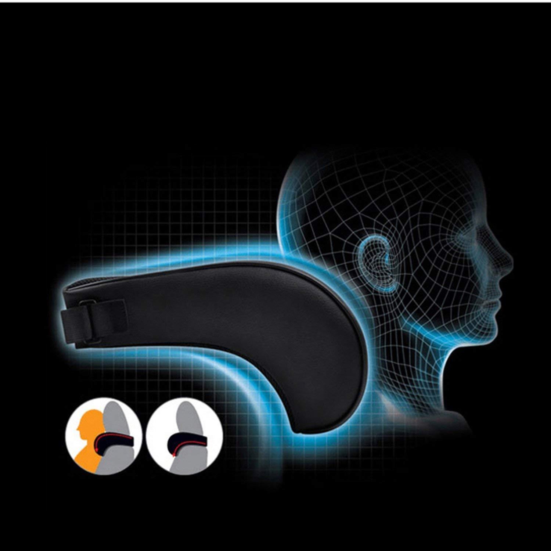 Zuhause//Auto HONCENMAX Auto-Nackenkissen Fahren komfortabel weich Ged/ächtnisschaum Auto-Sitz-Kopfst/ütze Sch/ützen Sie Hals und Wirbel Fit Reise//B/üro
