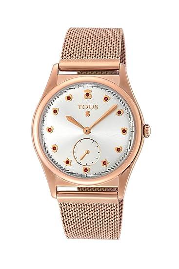 Reloj Tous Free de Acero IP Rosado para Mujer 800350825