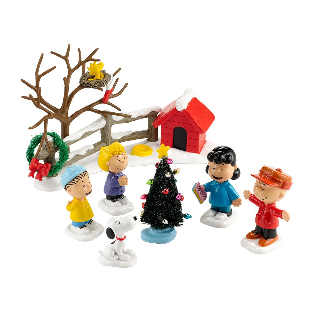 Department 56 Peanuts The Merriest Christmas Ever Figurine, 3-Inch 4032321