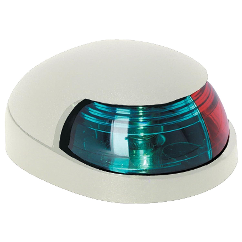 Bi-Color Navigation Light White Housing 2 Mile Visibility Quasar Attwood 31217