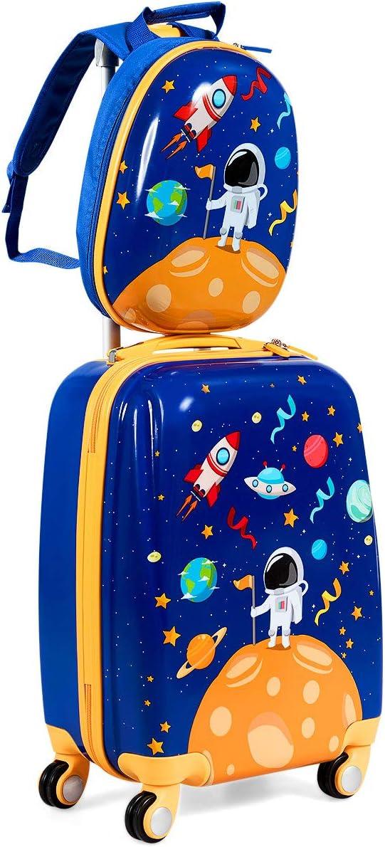 Baggage Covers Dinosaur Astronaut Rocekt Spaceship Washable Protective Case