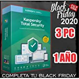 KASPERSKY TOTAL SECURITY 2020 3PC licencia por email NO CD