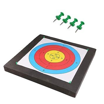 Festnight Outdoor Portable EVA Archery Arrows Target Shooting Practice Target Archery Accessories