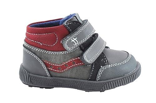 Chetto 16542, Botines para Niños, Gris (Grey), 19 EU: Amazon.es: Zapatos y complementos