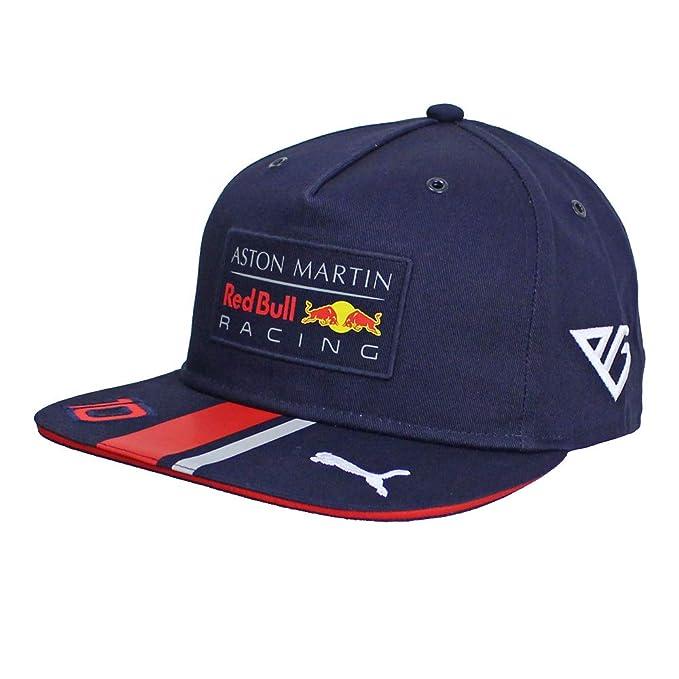 Red Bull Racing Aston Martin Pierre Gasly Flatbrim Cap 2019 Gorra de béisbol, Azul Navy, Talla única Unisex Adulto: Amazon.es: Ropa y accesorios