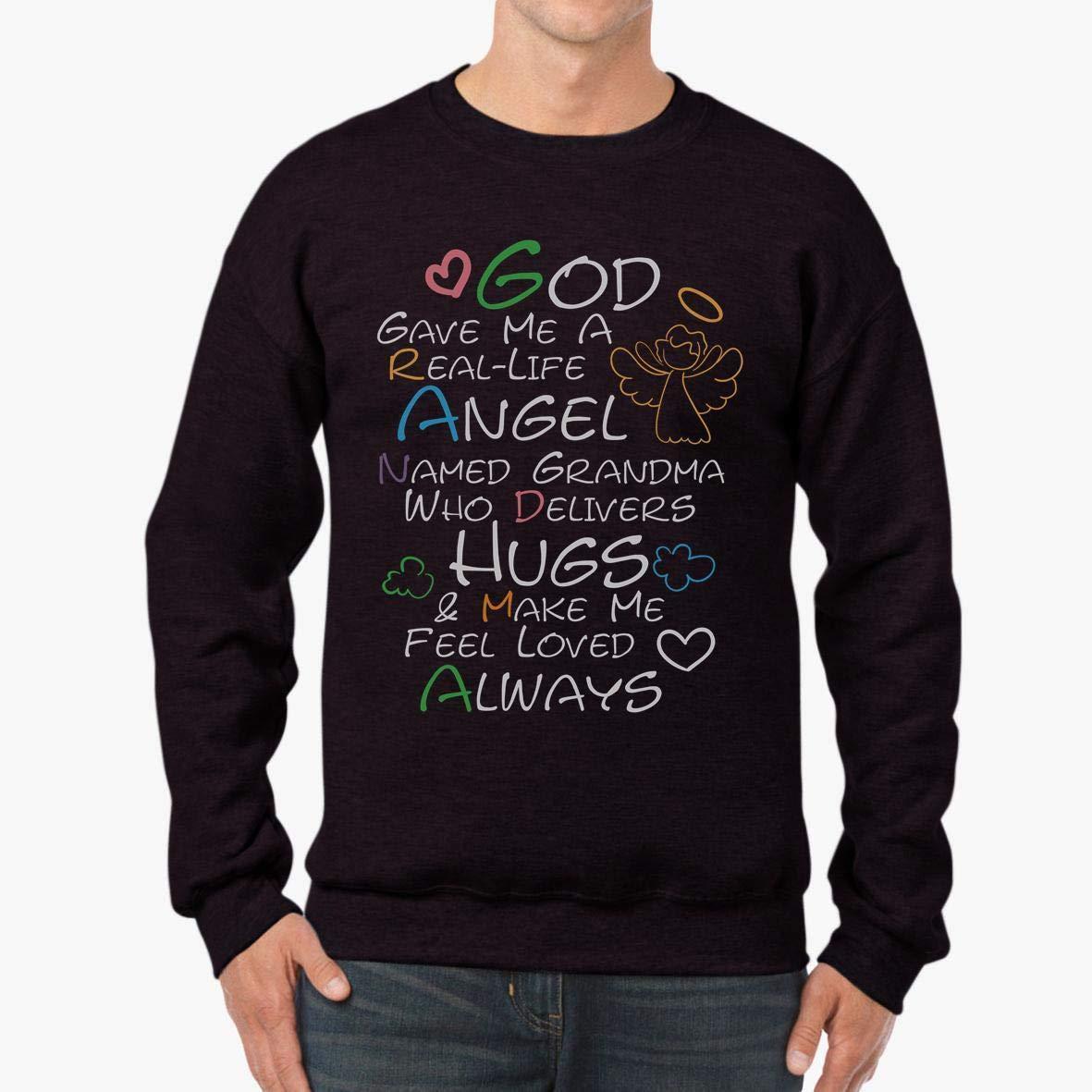 tee God Gave Me an Angel Grandma Family Love Unisex Sweatshirt