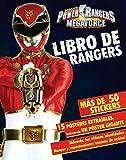 Power rangers megaforce - Libro de rangers