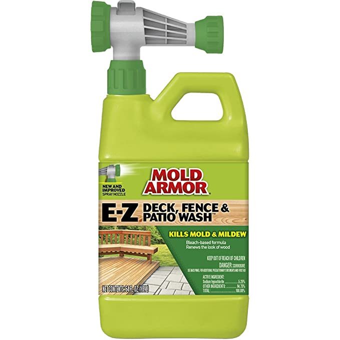Amazon Mold Armor FG E Z Deck Wash Hose End Sprayer Plain