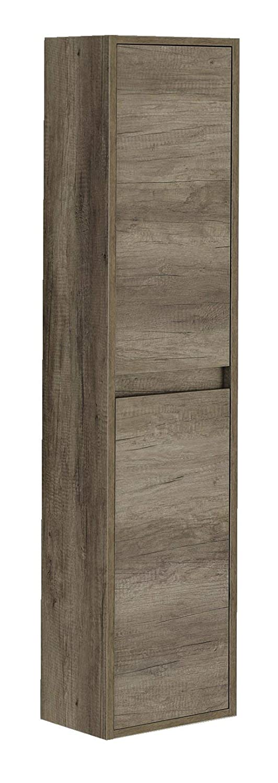 30x25.5x140 cm Nordik ARKITMOBEL 305070H Dakota Colonna Bagno Marrone