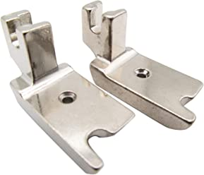 3mm, 4mm, 6mm 6 Pieces Narrow Rolled Hem Sewing Machine Presser Foot Fits for Most of Household Low Shank Sewing Machines 3 Sizes