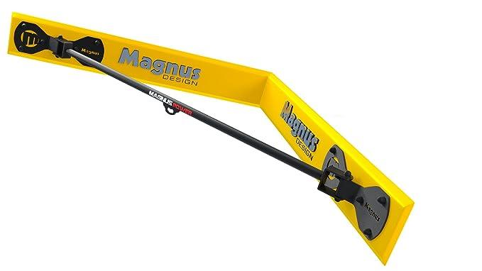 1 opinioni per Magnus® Power mp3038- Barra per trazioni (montaggio a parete angolo) + gancio