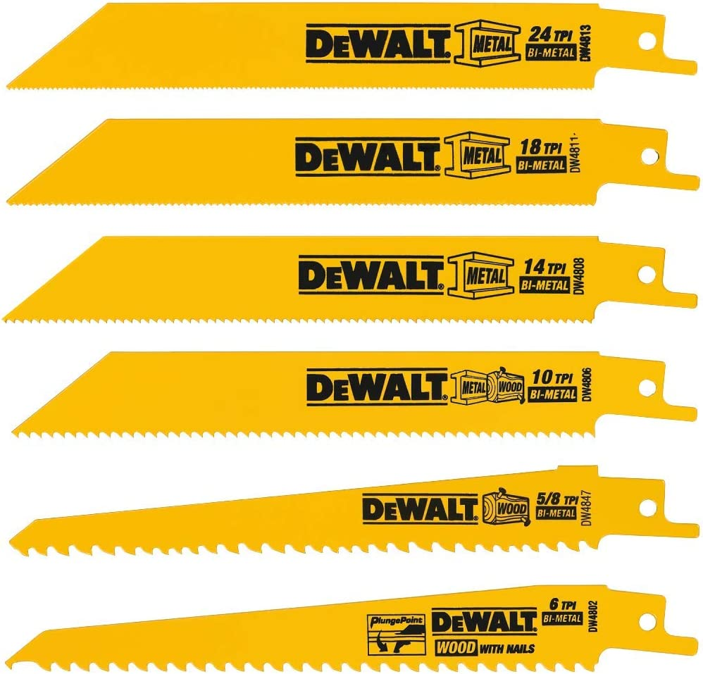 best Sawzall blades for metal