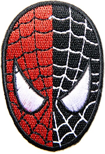 The Amazing Spider Man Ps3 Costumes (Spiderman Spider Web Superhero Super Hero Logo Cartoon Movie DC Comics Patch Sew Iron on Embroidered Applique Collection By PatchPrimium)