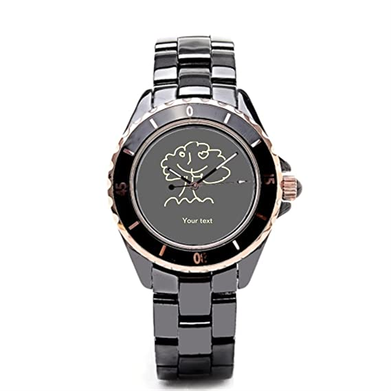 sjfy muñeca relojes Marcas Vintage más de cerámica reloj banda: Amazon.es: Relojes